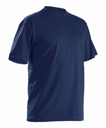 Blaklader 3325 T-Shirt 5 Pack (Navy Blue)